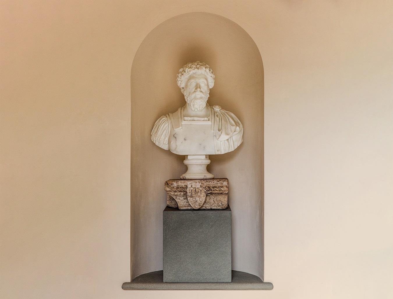Busto Marco Aurelio