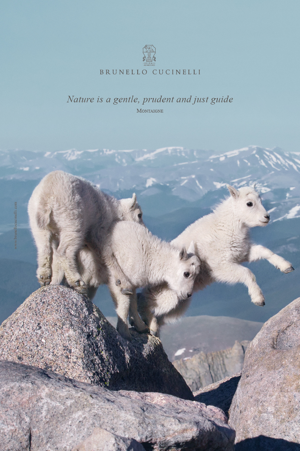 Nature is a gentle, prudent and just guide.