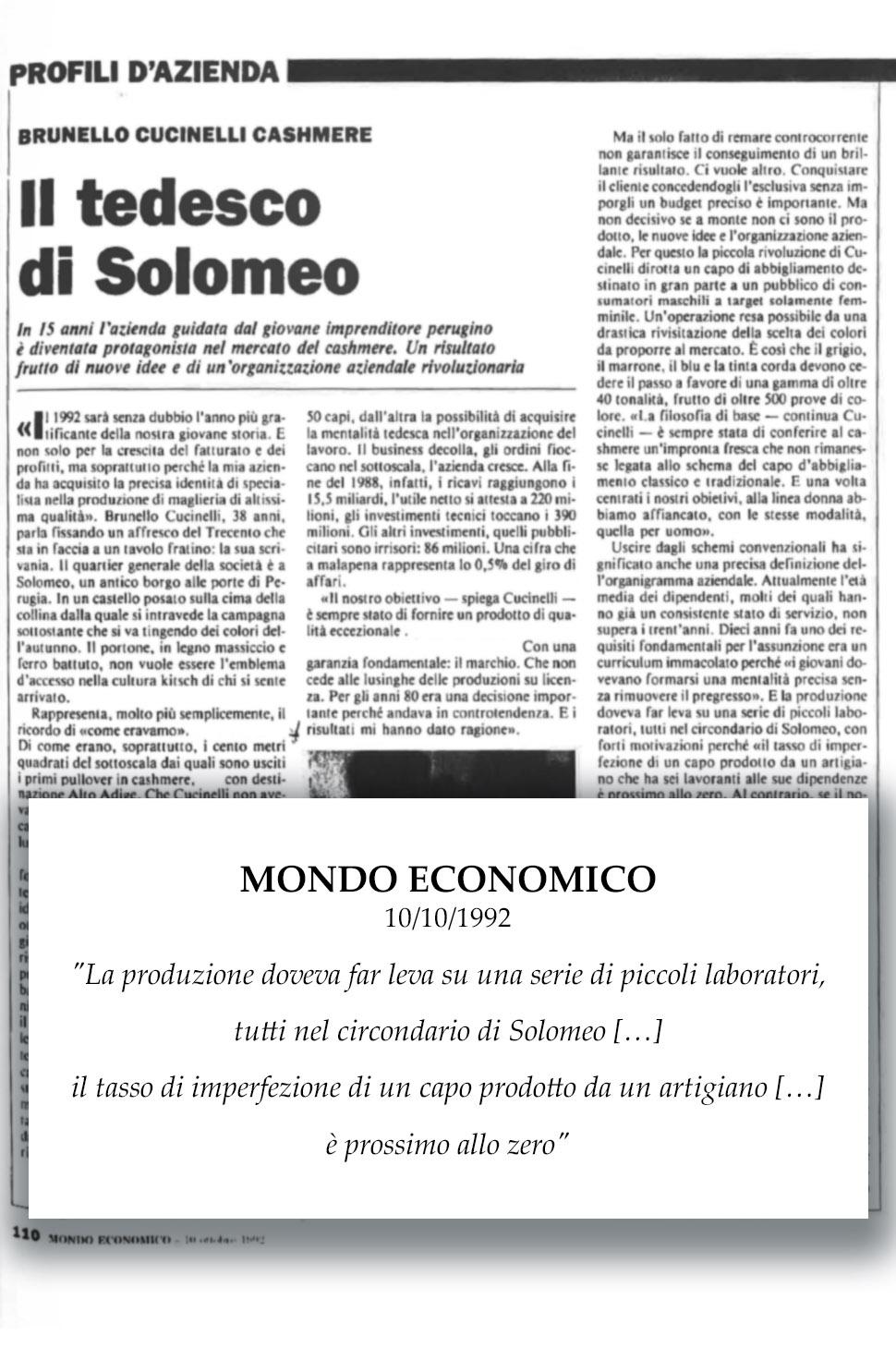 1992 Mondo Economico