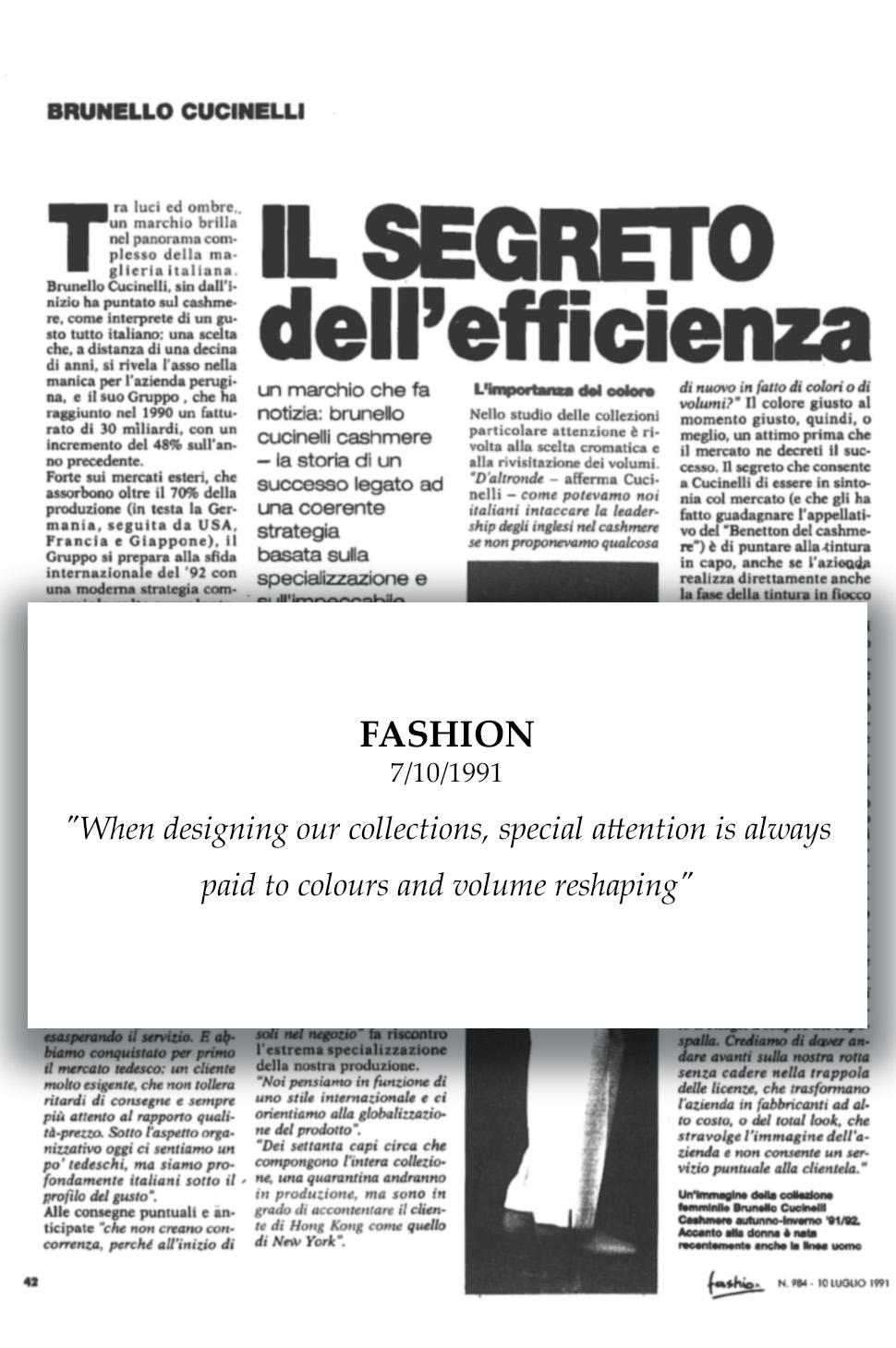 1991 Fashion