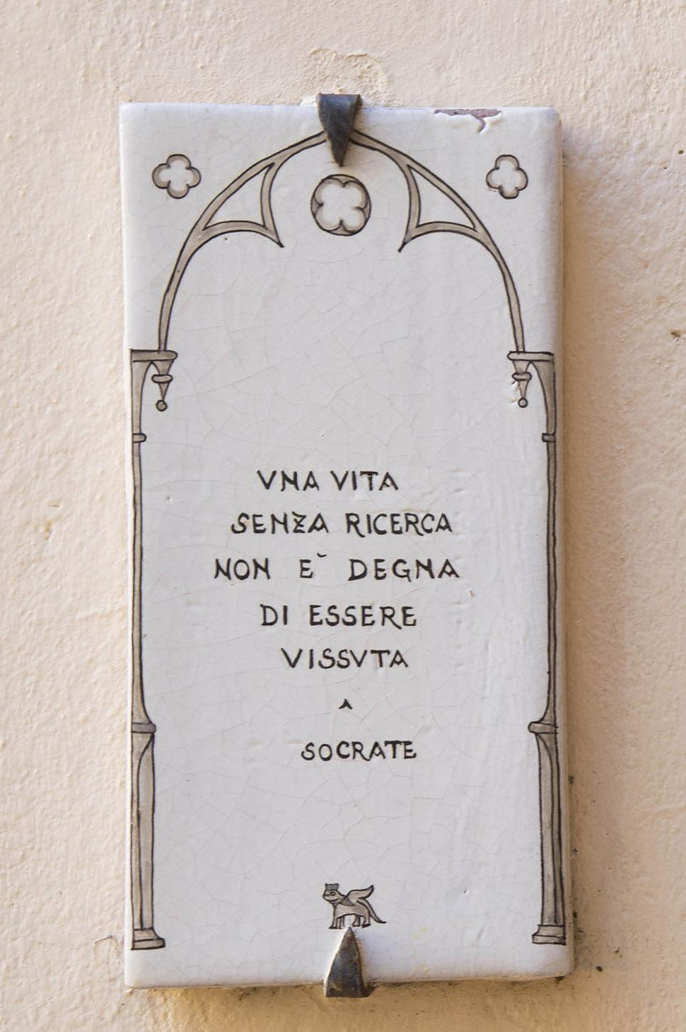 Targa Socrate