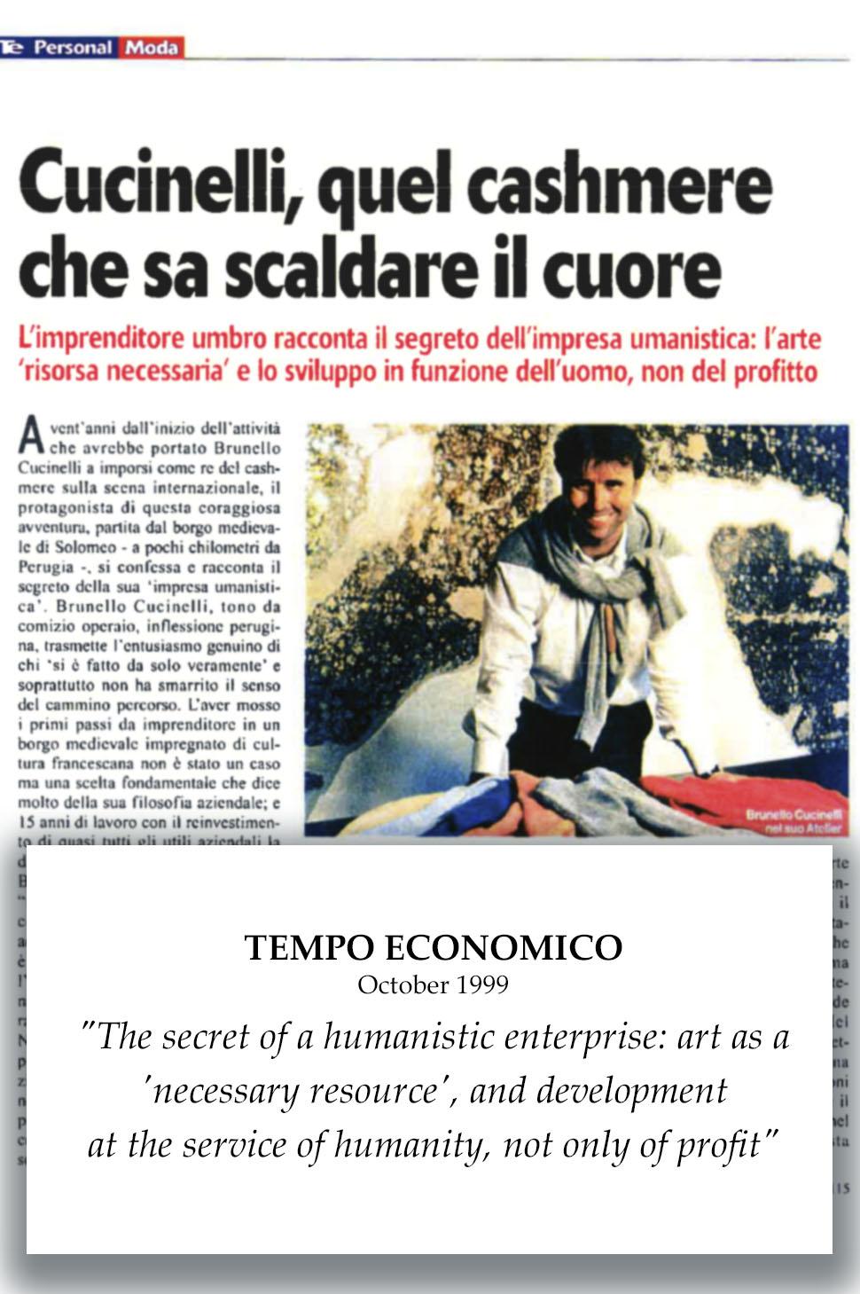 1999 - Tempo Economico