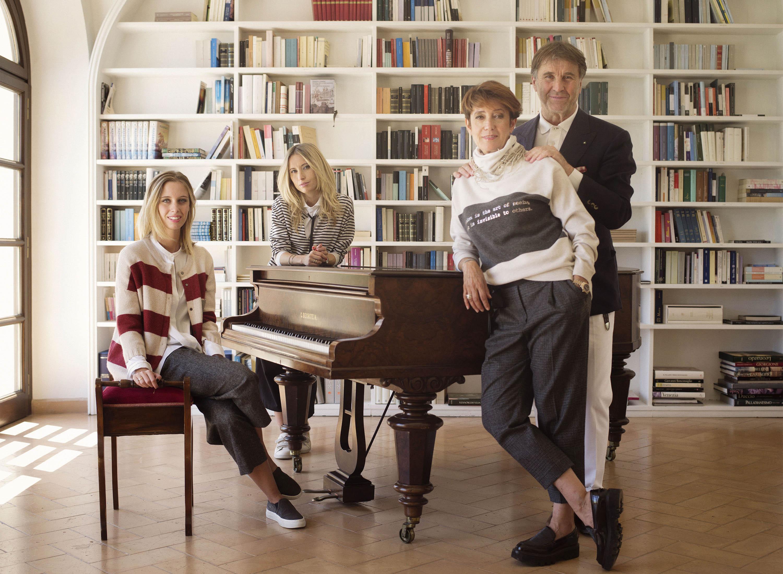 Brunello, Federica, Camilla and  Carolina Cucinelli