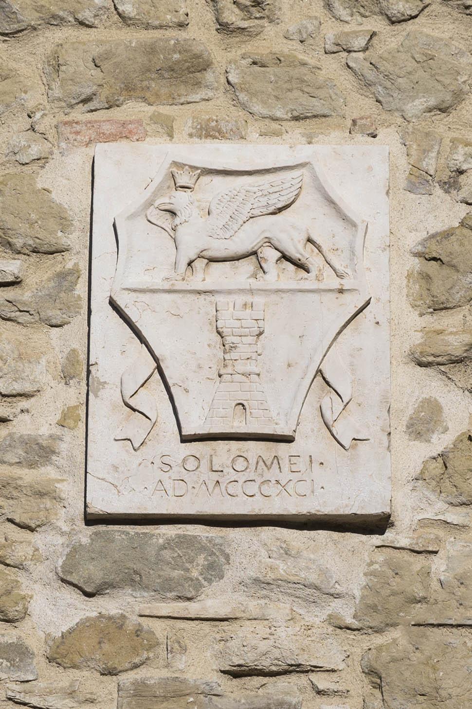 Lo stemma di Solomeo