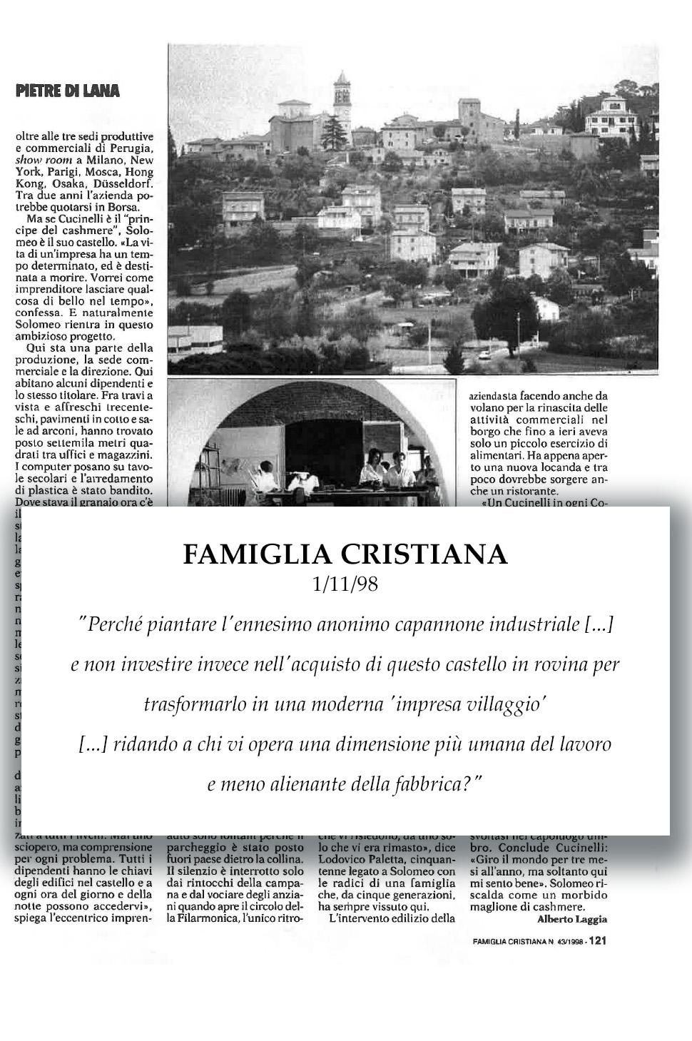 1998 Famiglia Cristiana
