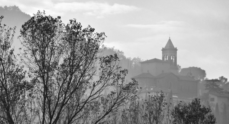 Vista di Solomeo dalla valle
