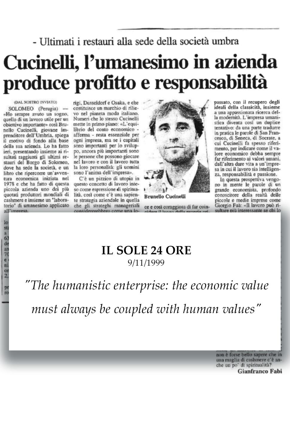 1999 Il Sole 24 Ore