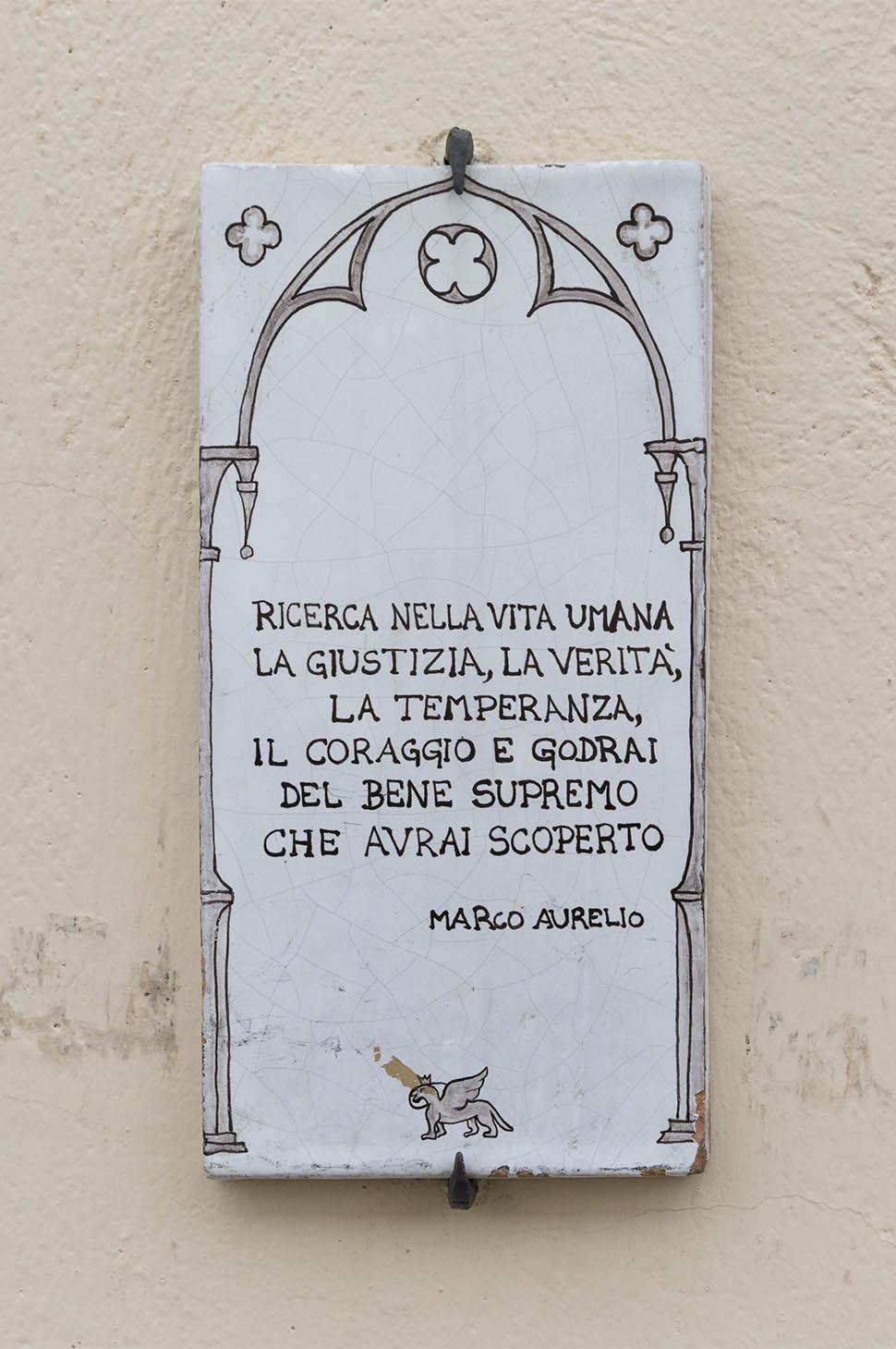 Targa Marco Aurelio