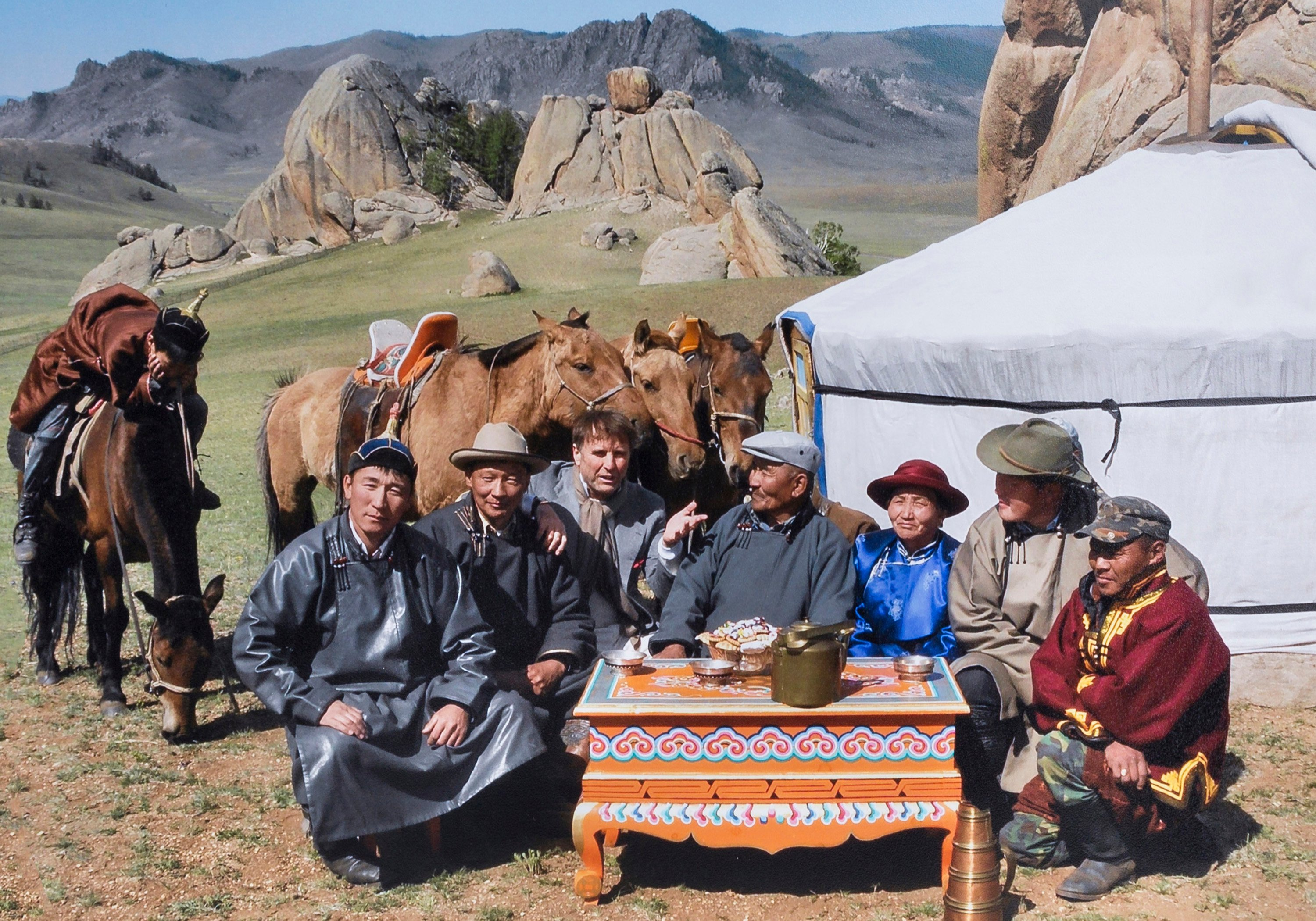 Brunello Cucinelli in Mongolia