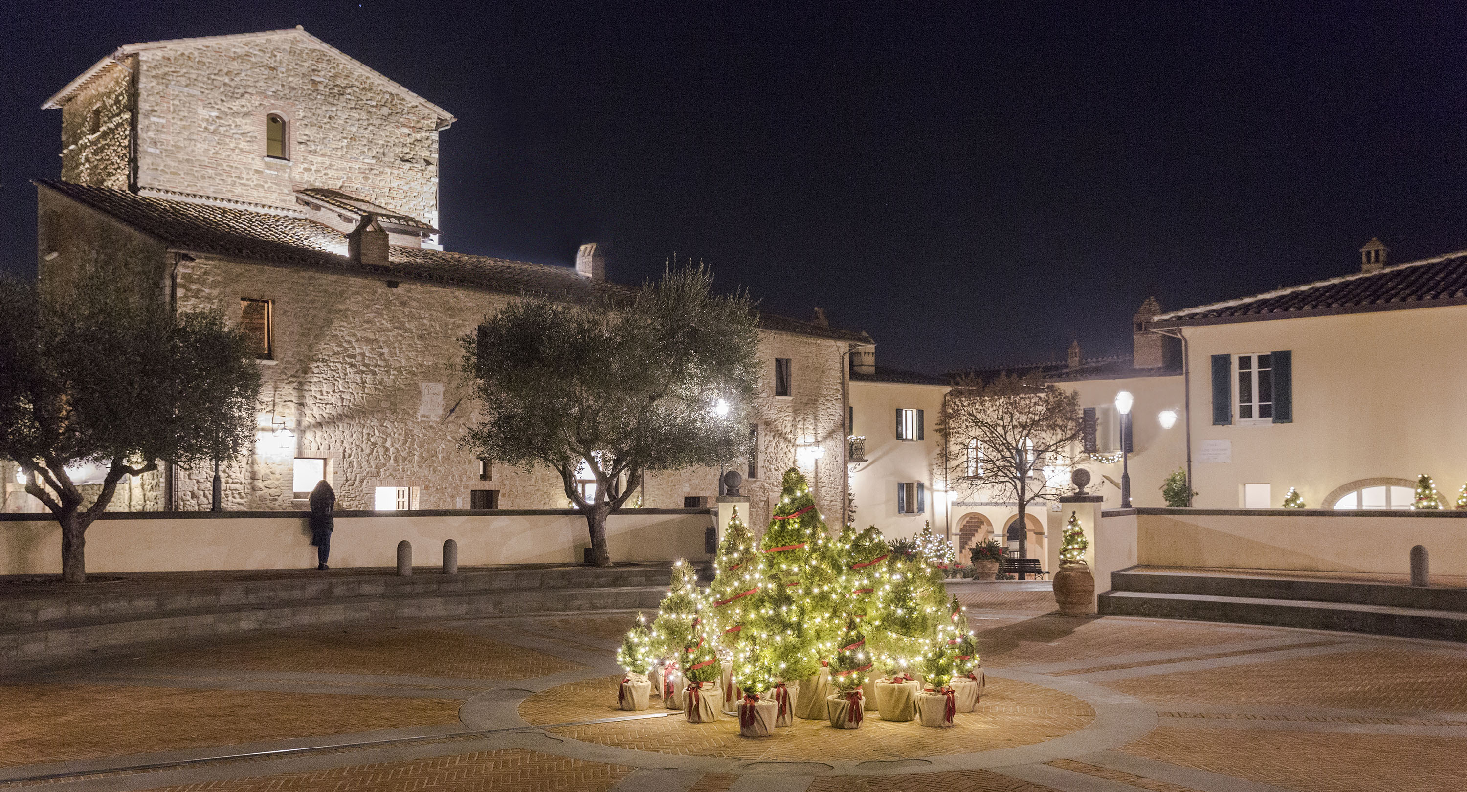 Christmas Eve in Solomeo