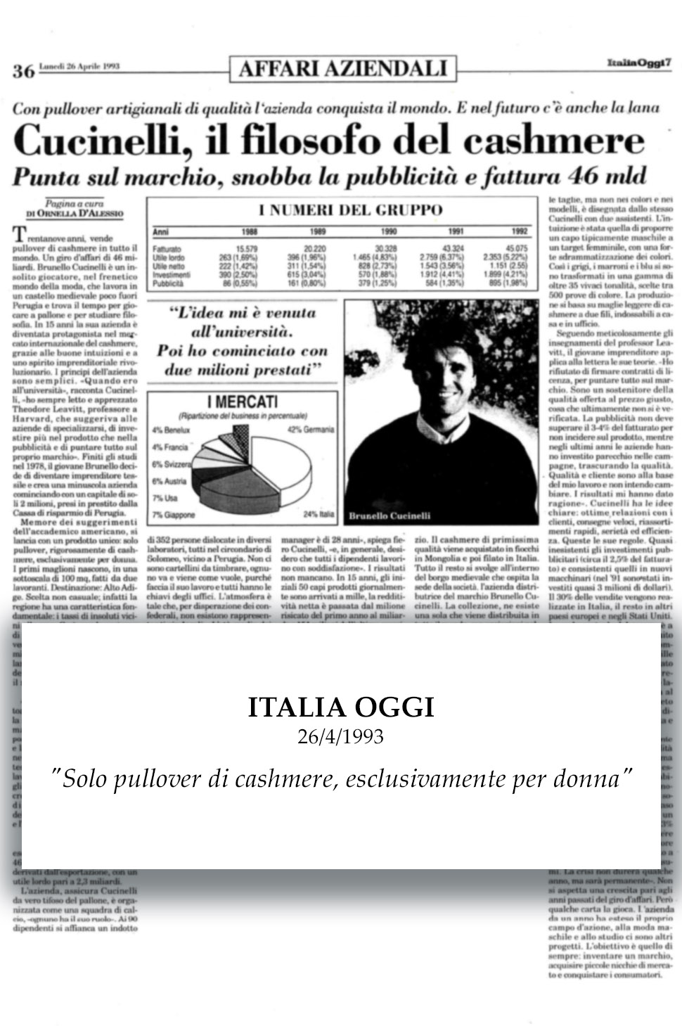 1993 Italia Oggi
