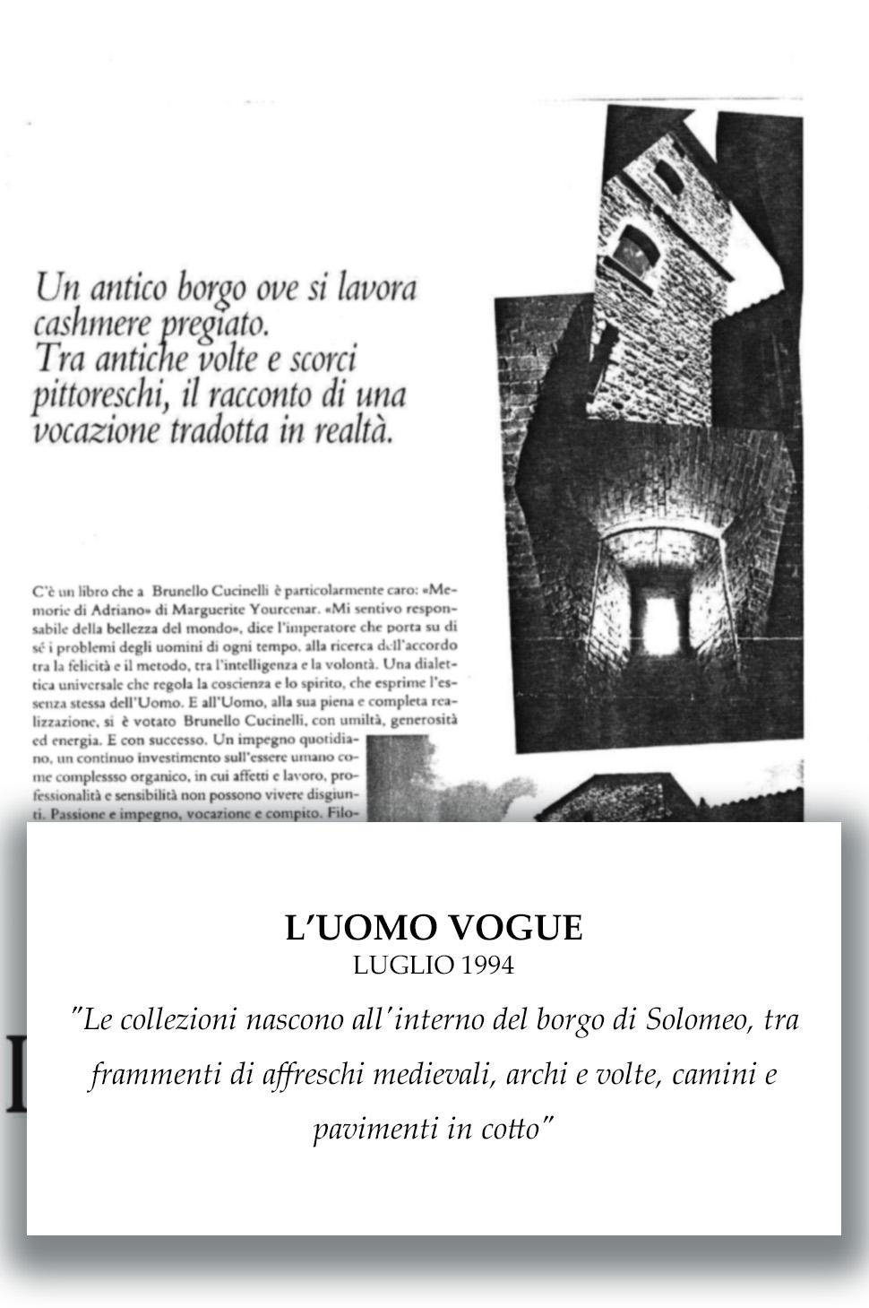 1994 L'Uomo Vogue