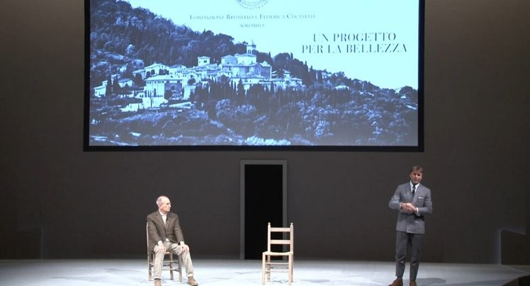 2014 - A Project for Beauty. Presentation of the project promoted by the Brunello and Federica Cucinelli Foundation together with Massimo de Vico Fallani